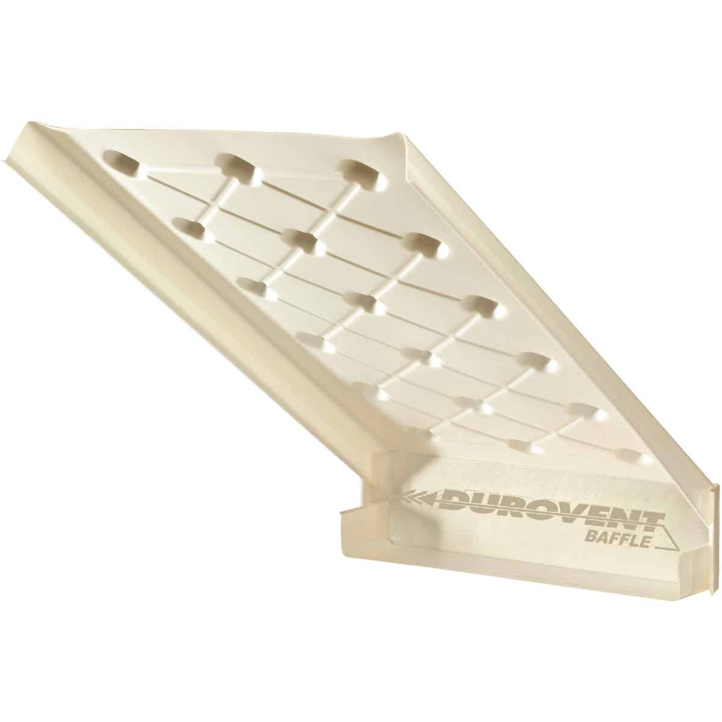 """ADO Durovent Baffle 24"""" x 46"""" x 2"""" Polystyrene DuroVent Attic Rafter Vent Image 1"""