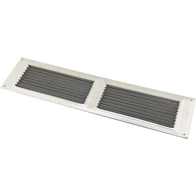 NorWesco 16 In. x 4 In. Galvanized Soffit Ventilator