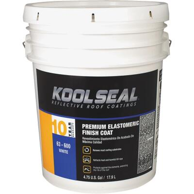 Kool Seal 5 Gal. Premium 10-Year White Acrylic Elastomeric Roof Coating