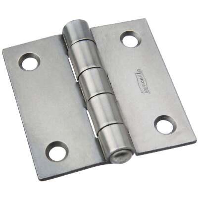 National 2 In. Square Steel Broad Door Hinge