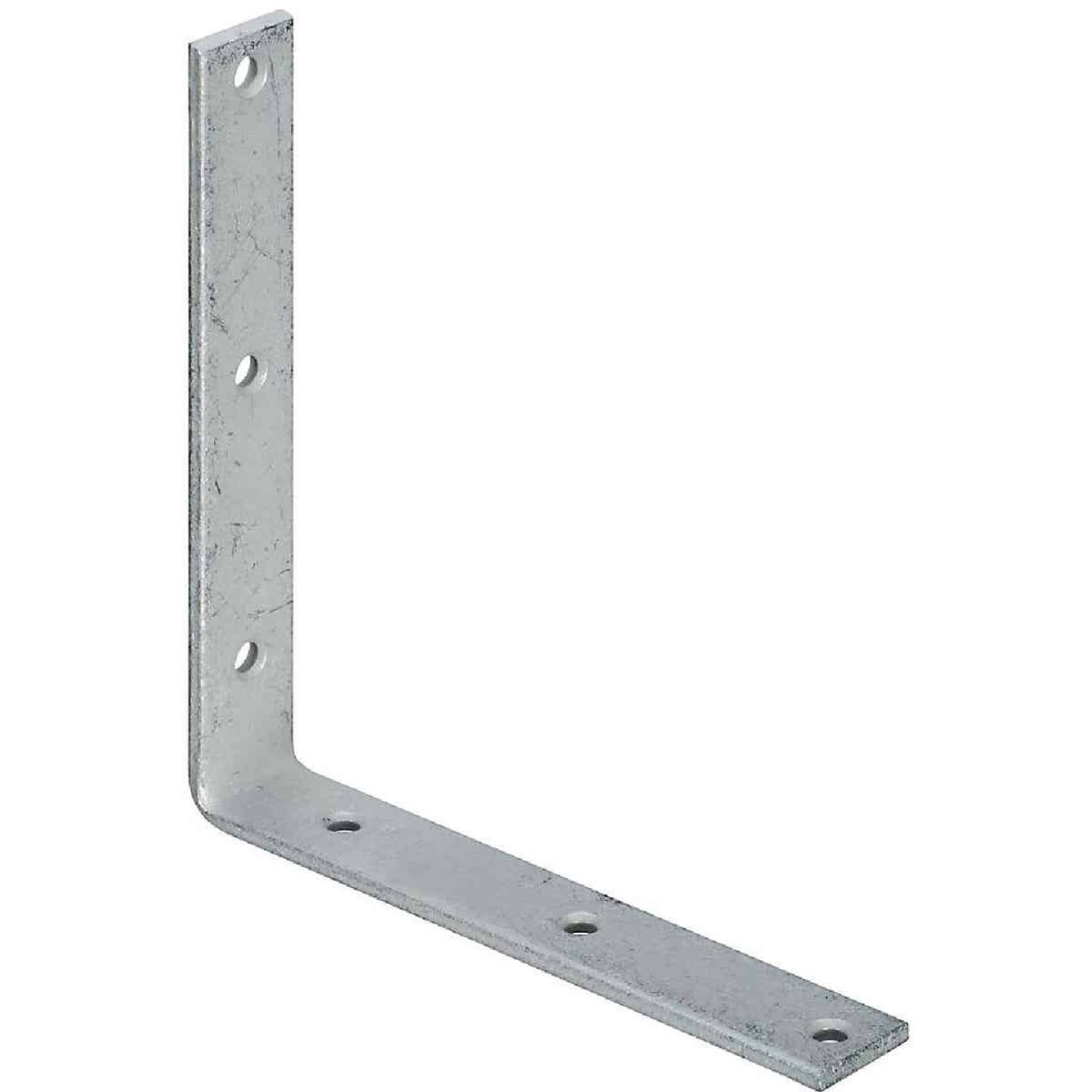 National Catalog 115 8 In. x 1-1/4 In. Galvanized Corner Brace Image 1