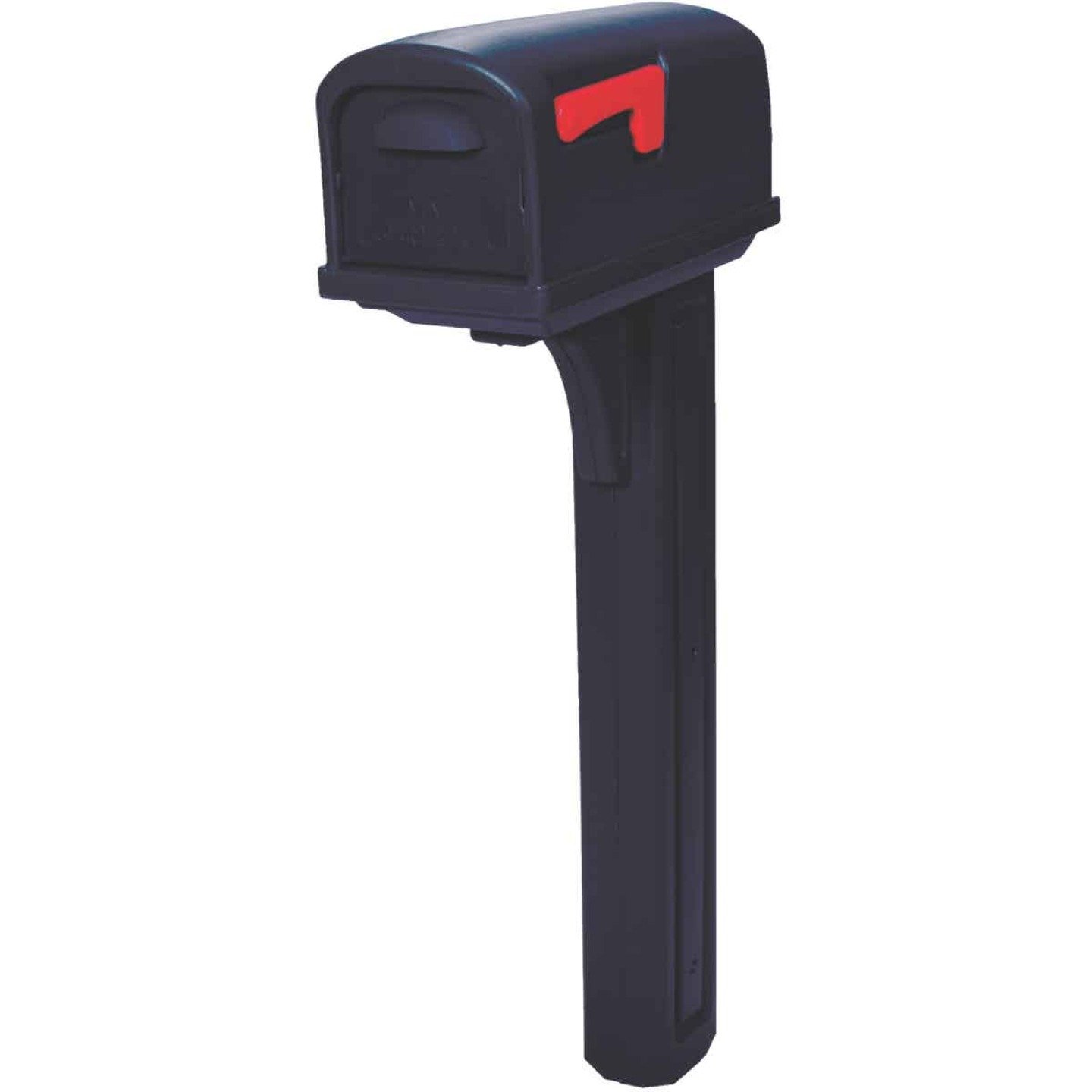 Gibraltar Classic Black Mailbox & Post Image 1