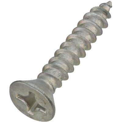 National #12 x 1-1/4 In. Phillips Flat Head Zinc Wood Screw (18 Ct.)