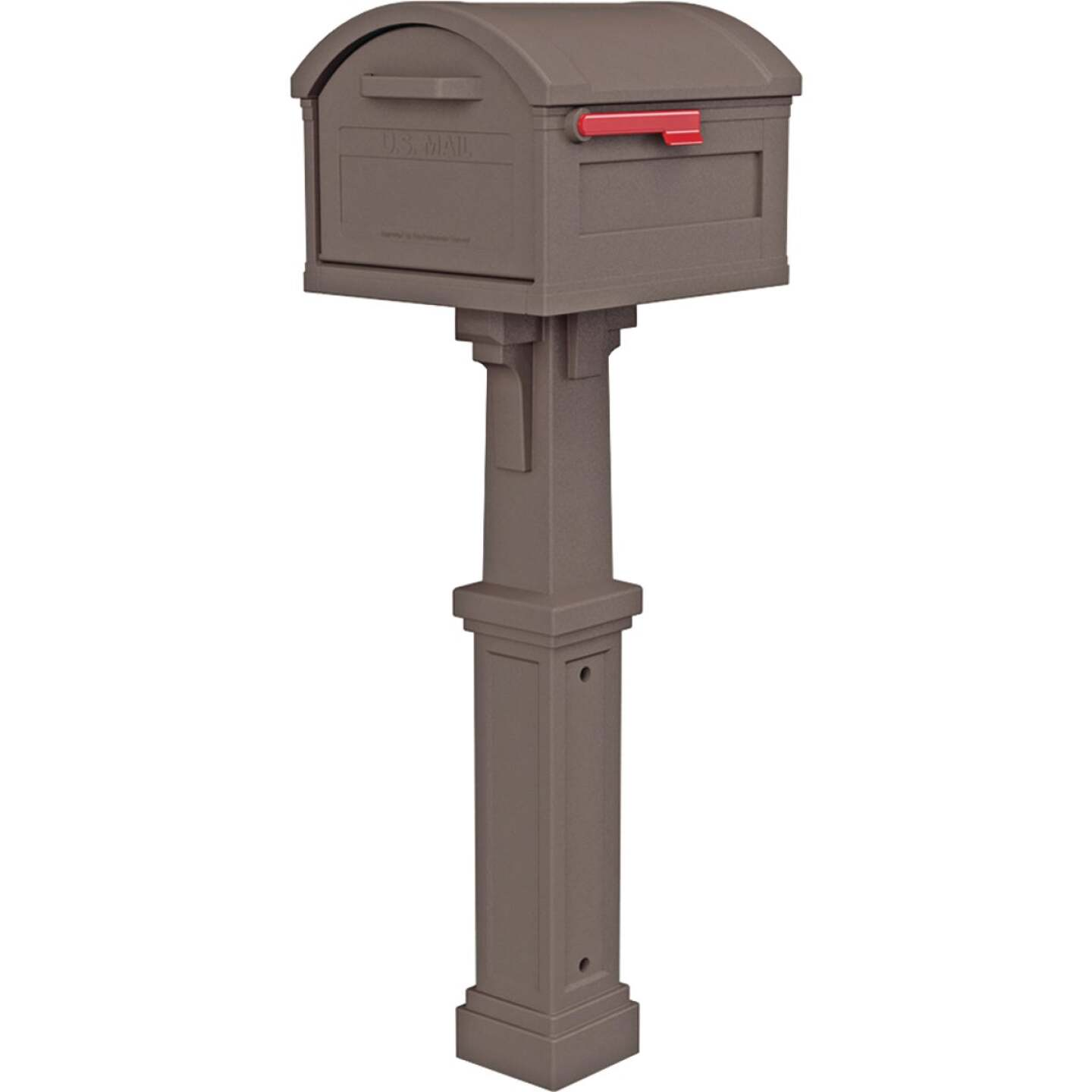 Gibraltar Grand Haven Mocha All In One Mailbox Image 1