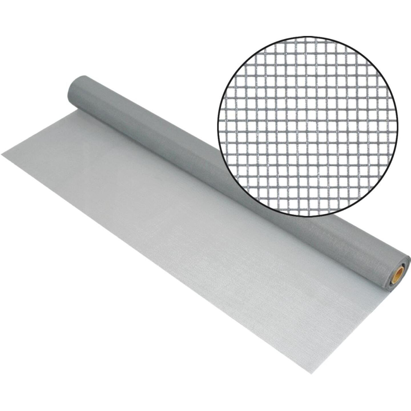 Phifer 24 In. x 100 Ft. Gray Fiberglass Mesh Screen Cloth Image 1