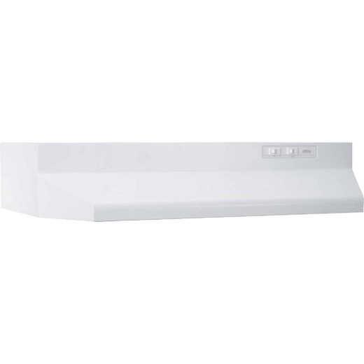Broan-Nutone 40000 Series 30 In. Ducted White Range Hood