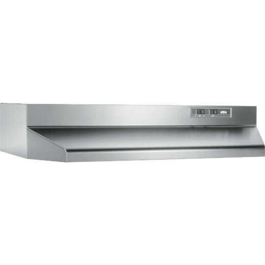 Broan-Nutone 40000 Series 30 In. Ducted Stainless Steel Range Hood