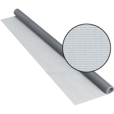 Phifer 36 In. x 84 In. Gray Fiberglass Screen Cloth Ready Rolls