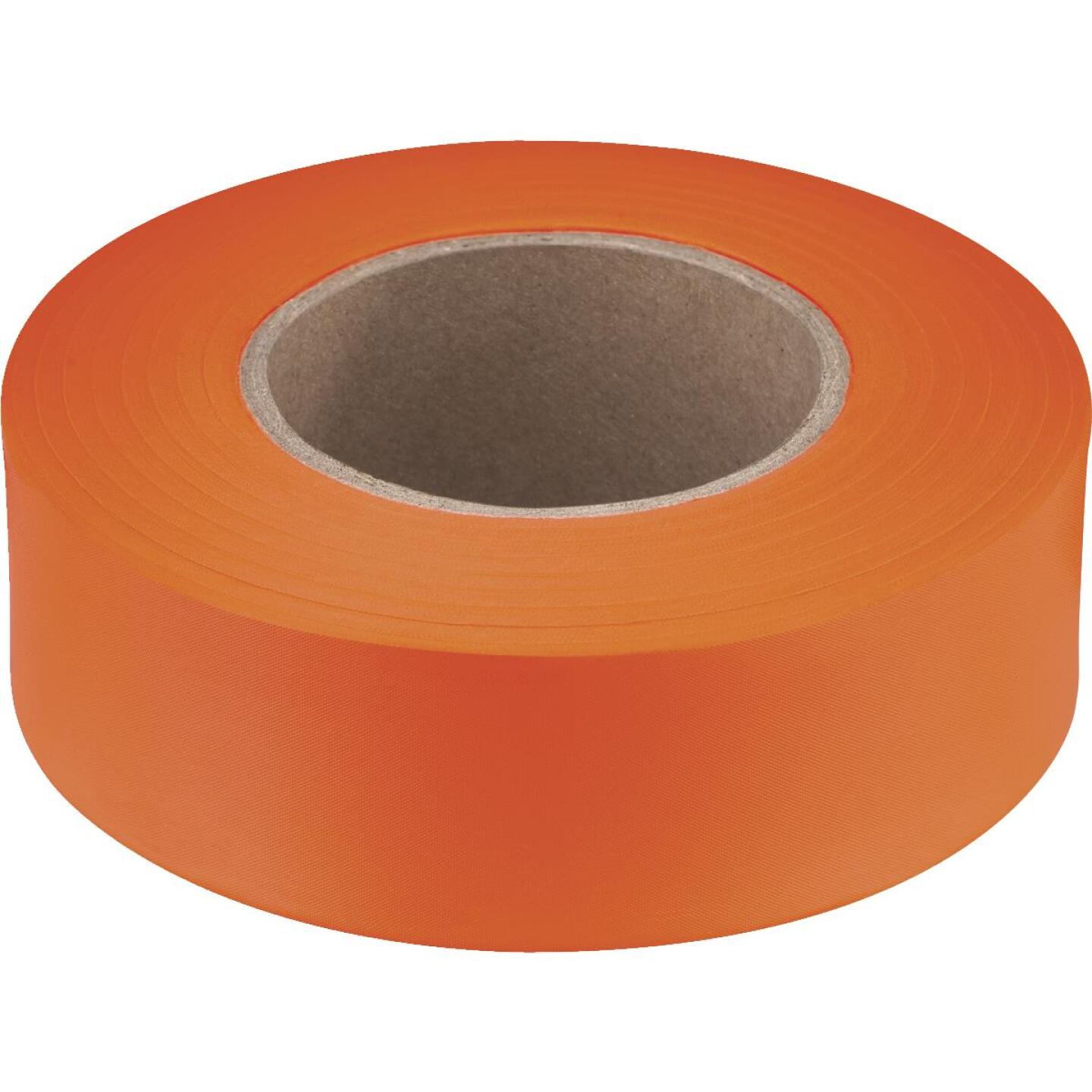 Empire 200 Ft. x 1 In. Orange Flagging Tape Image 1