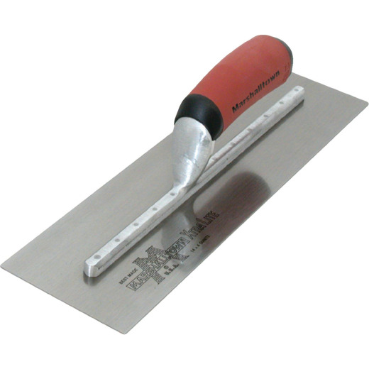 Marshalltown Xtralite 5 In. x 13 In. Finishing Trowel with Curved DuraSoft Handle