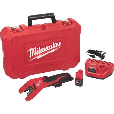 Milwaukee M12 12 Volt Lithium-Ion Copper Cordless Pipe Cutter Kit