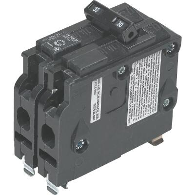 Connecticut Electric 30A Double-Pole Standard Trip Packaged Replacement Circuit Breaker For Square D