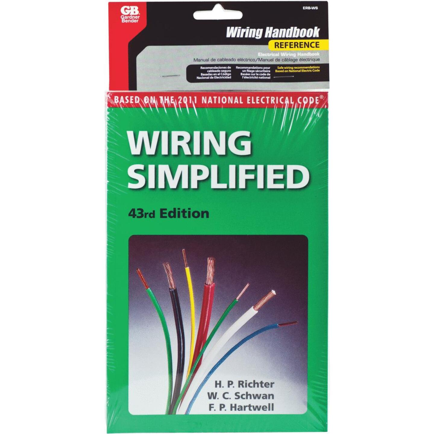 Gardner Bender Electrical Wiring Simplified Pocket Reference Book Image 1