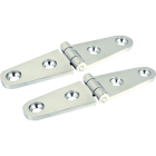 Seachoice 1 In. x 4 In. Stainless Steel Strap Hinge (2-Pack) Image 1