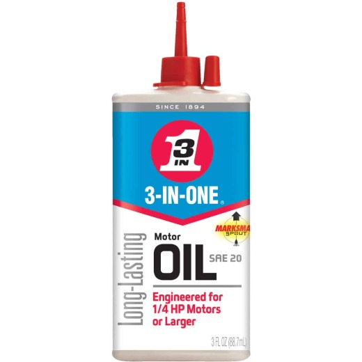 3-IN-ONE 3 Oz. Drip Can Motor Oil Multi-Purpose Lubricant