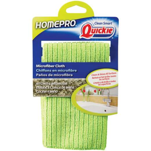 Quickie HomePro 13 In. x 15 In. Kitchen & Bath Microfiber Cleaning Cloth