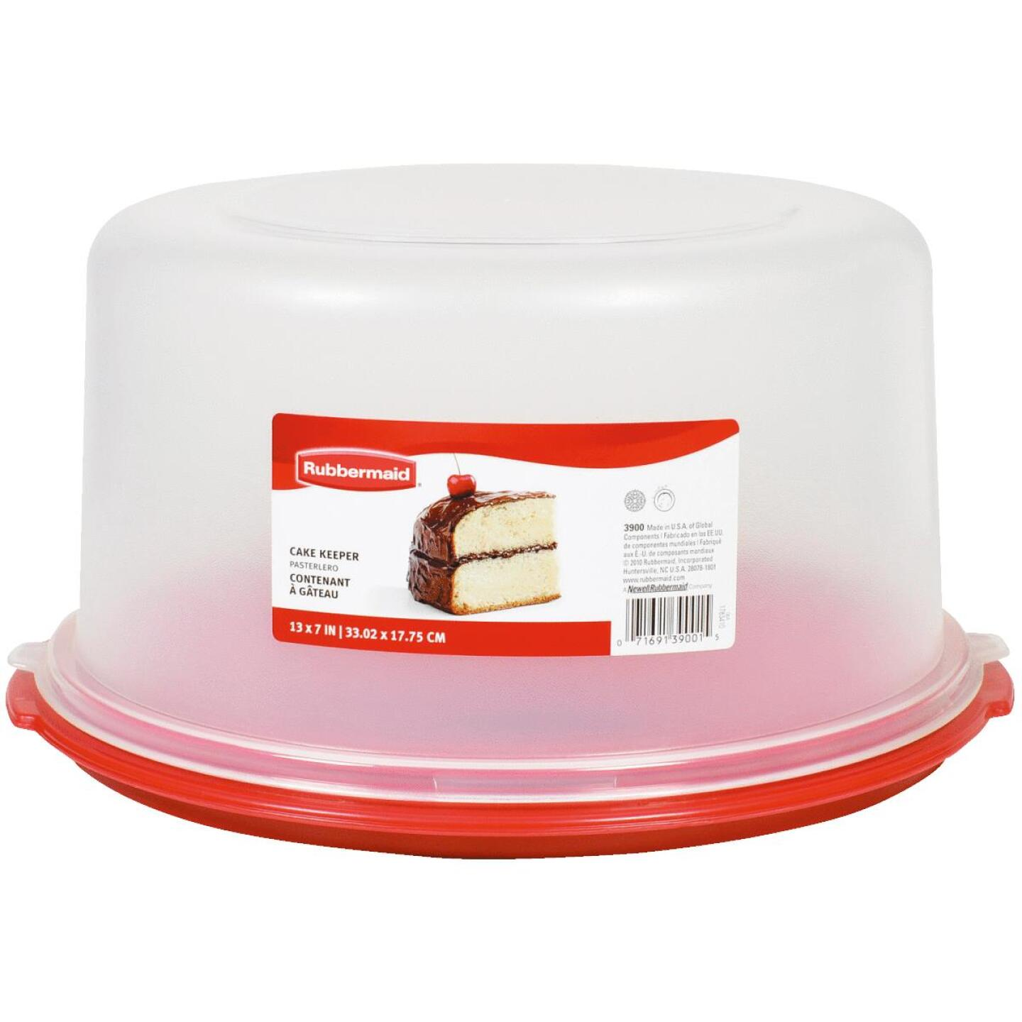 Rubbermaid 13 In. Dia. Durable Cake Keeper Image 1