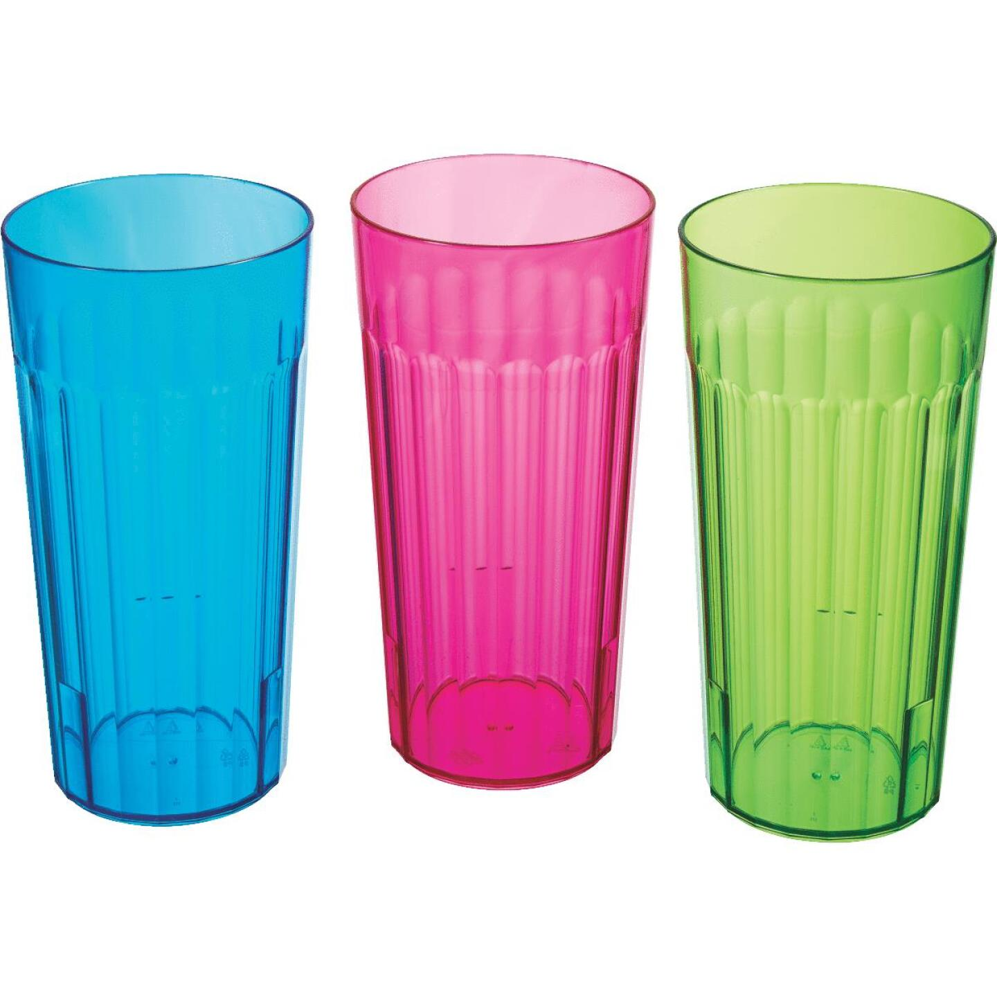 Arrow 30 Oz. Plastic Tumbler Image 1