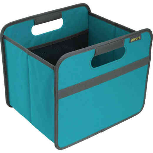 Meori 1-Compartment Azure Blue Foldable Reusable Box