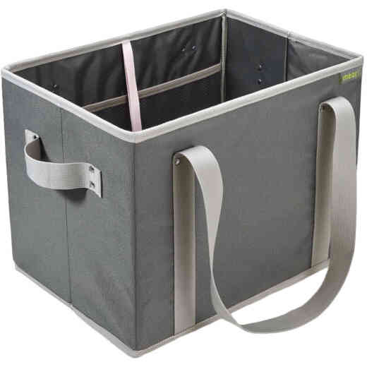 Meori Granite Gray Foldable Grocery Basket
