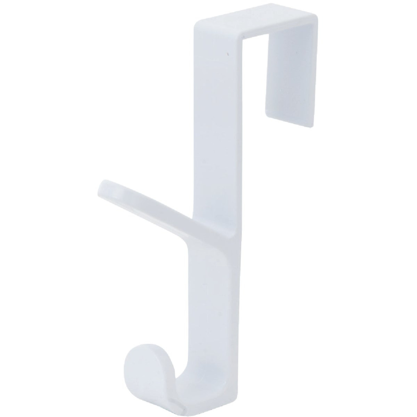 Spectrum White Plastic Over-The-Door Hook, 5-1/2 In. Image 2