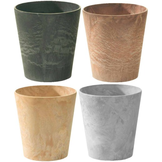 Novelty 5 in. Neutral Cache Planter (Assorted Colors)