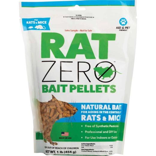 Rat Zero Pellet Rat And Mouse Killer, 1 Lb.