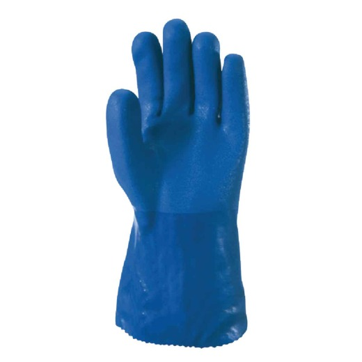 Wells Lamont Men's Large Heavy-Duty Chemical Resistant PVC Coated Glove