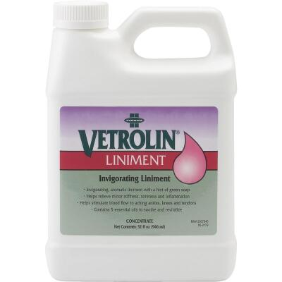 Farnam Vetrolin 32 Oz. Equine Liniment For Equine Leg Care