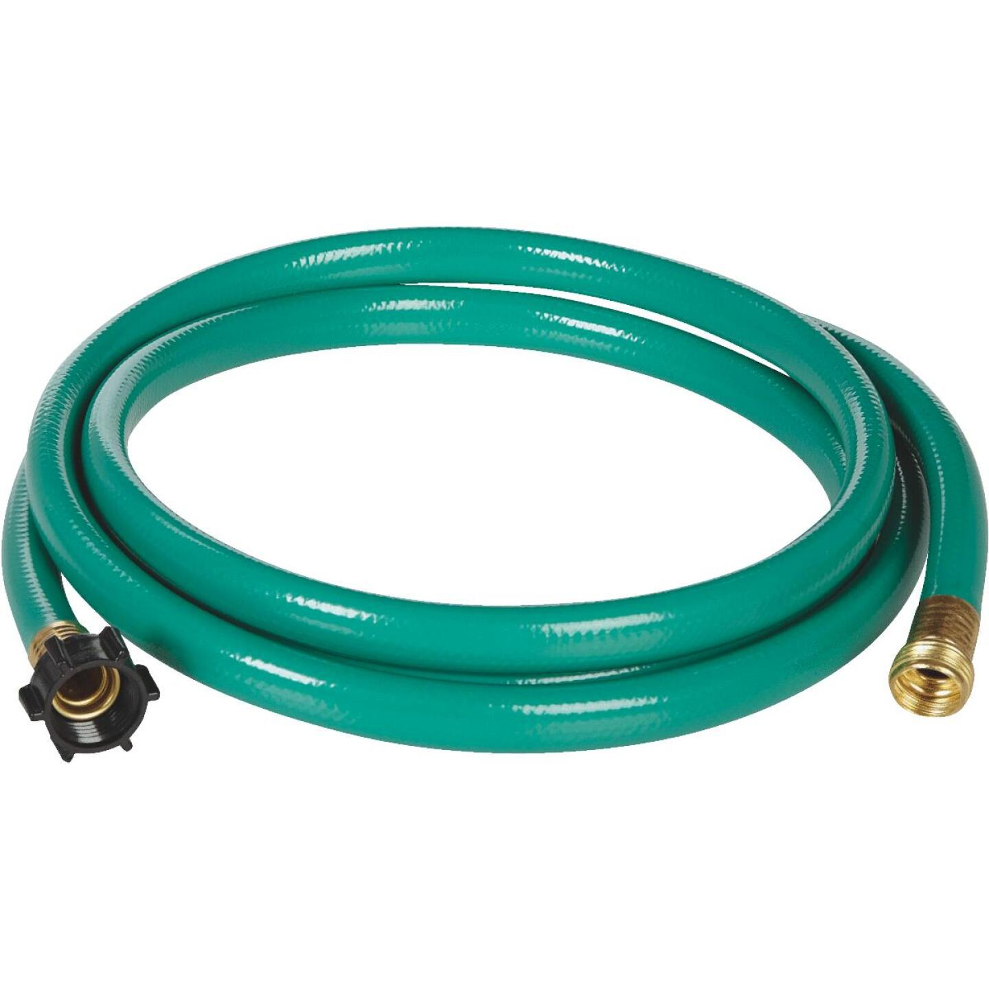 Best Garden 5/8 In. Dia. x 6 Ft. L. Leader Hose with Male & Female Couplings Image 2