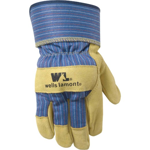 Wells Lamont Men's Large Grain Pigskin Leather Work Glove