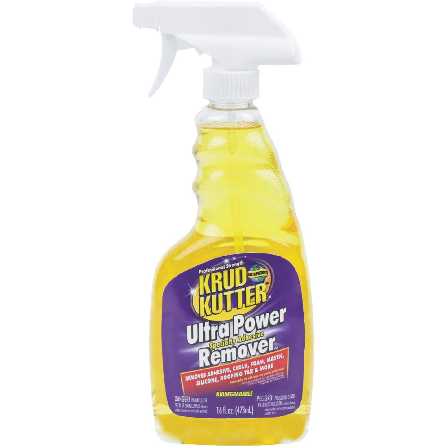 Krud Kutter 16 Oz. Ultra Power Spray Specialty Adhesive Remover Image 1