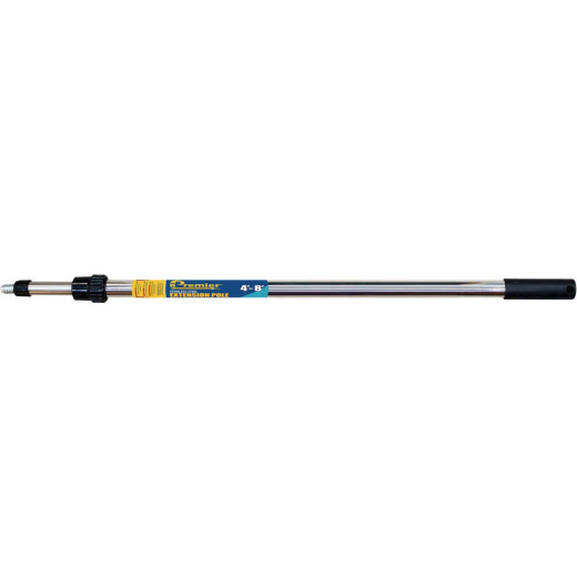 Premier 4 Ft. To 8 Ft. Telescoping Stainless Steel External Twist Extension Pole
