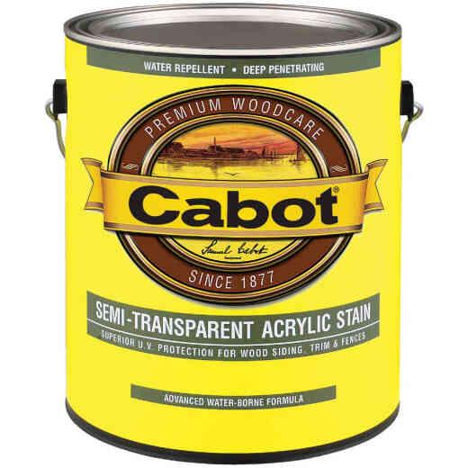 Cabot Semi-Transparent Exterior Stain, Deep Base, 1 Gal.