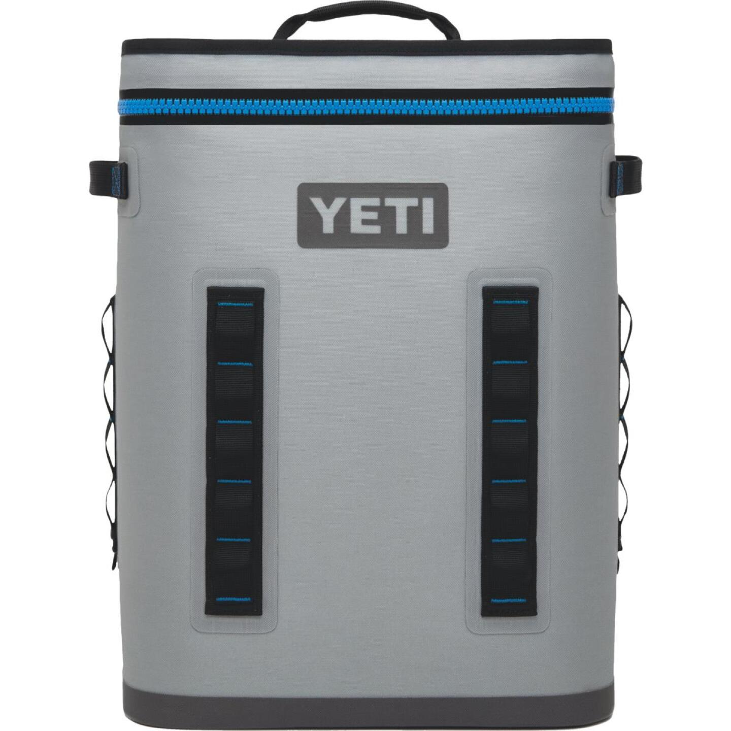 Yeti Hopper BackFlip 24 20-Can Soft-Side Cooler, Gray Image 1