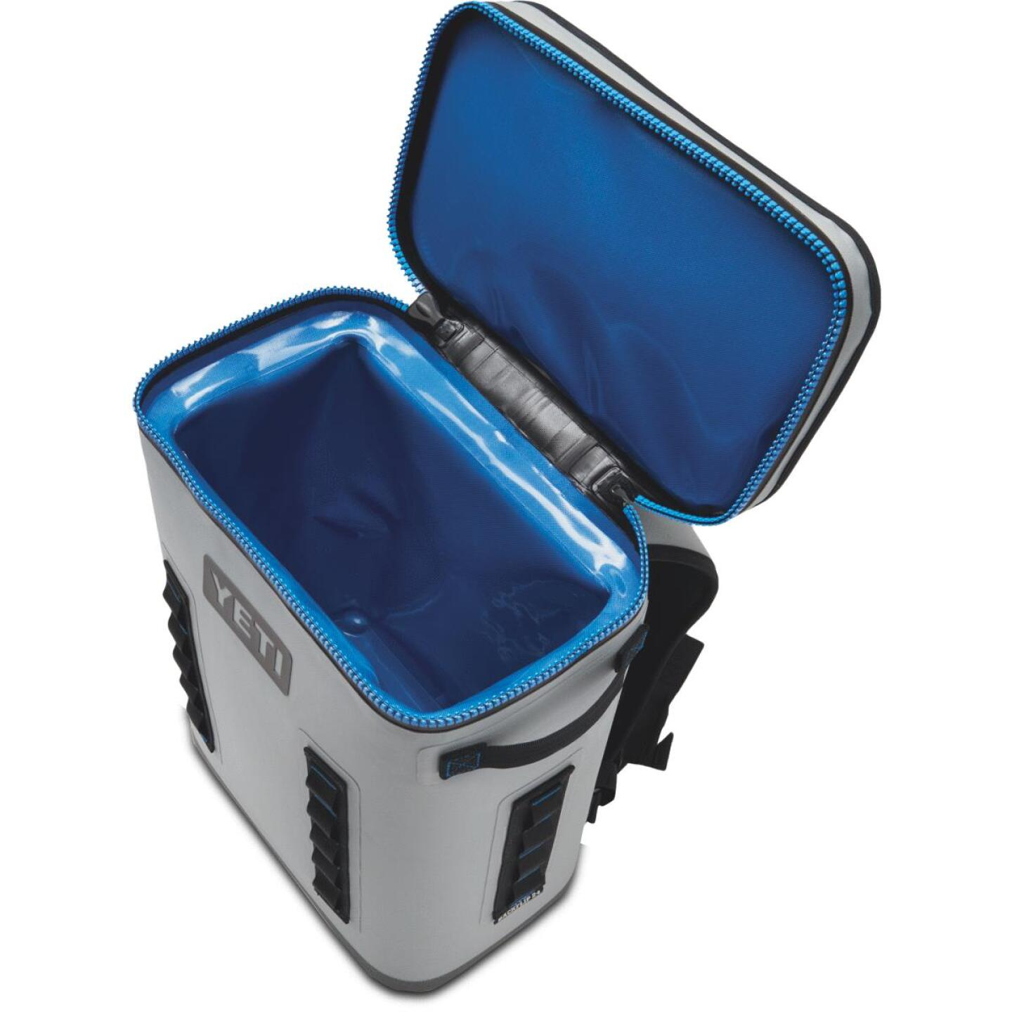 Yeti Hopper BackFlip 24 20-Can Soft-Side Cooler, Gray Image 4
